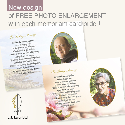 new memoriam cards with sports